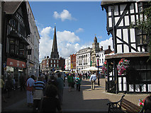 SO5140 : Tuesday afternoon in central Hereford by Pauline E