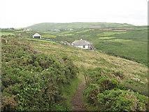 SW4538 : Carn Cobba house by David Medcalf