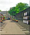 NO6473 : Whisky barrels at the Fettercairn distillery by C Michael Hogan
