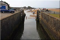 SS2006 : The lock on the Bude Canal by Steve Daniels