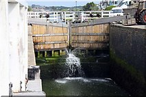 SS2006 : The lock gates of the Bude Canal by Steve Daniels
