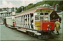 SC3977 : Manx Electric Railway, Derby Castle, Crossbench car 26 by Chris Coleman