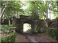 SJ5356 : Haunted Bridge Peckforton by John Charlton