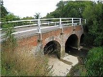 TL7835 : Castle Hedingham: River Colne bridge by Nigel Cox