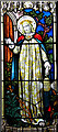 TG3202 : St Mary's church - C19 stained glass window by Evelyn Simak