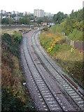 SE1632 : Dunstan Curve Bradford by Stephen Armstrong