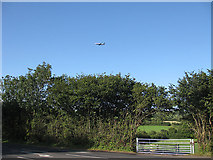 ST5464 : Ryanair jet on final approach to Bristol International by Pauline E