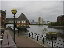 SJ8196 : Salford Quays by Robert Wade
