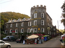 SX0991 : Boscastle: the Wellington Hotel by Chris Downer