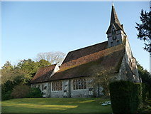 SU3940 : Wherwell - St Peter And The Holy Cross by Chris Talbot