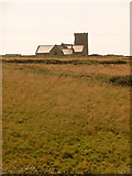 SX0588 : Tintagel: parish church of St. Materiana from the village by Chris Downer