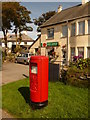 SX0784 : Delabole: the post office and postbox № PL33 31 by Chris Downer