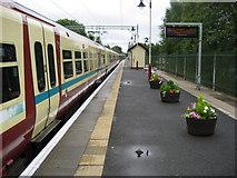NS5574 : Platform 2, Milngavie Station by Chris Heaton