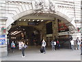 TQ2879 : Entrance to London Victoria Station by Paul Gillett