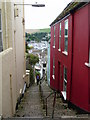 SX8751 : Dartmouth: descending Horn Hill by Chris Downer