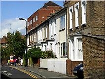 TQ3386 : Edward's Lane, Stoke Newington by Stephen McKay