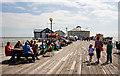 TM1714 : Clacton Pier by Martin Addison