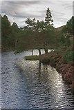 NH9506 : Reservoir, Rothiemurchus Lodge by Mick Garratt