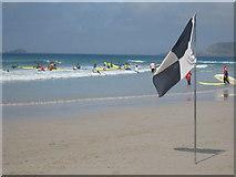 SW3526 : Surf school by Rod Allday