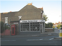 TQ4077 : The Village Barbershop, Charlton by Stephen Craven