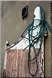 SK0394 : Hose on Gate by David Lally