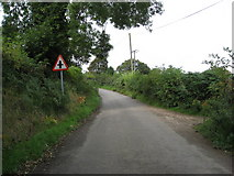 SK2750 : Wapentake Lane - Approaching Crossroads by Alan Heardman