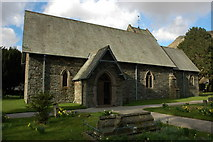NY3916 : Patterdale Church by Philip Halling