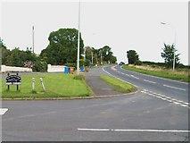 J3633 : The A50 at Kidd's Corner by Eric Jones