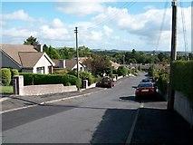 J3630 : Sunningdale  Drive, the view downhill along the northern limb by Eric Jones
