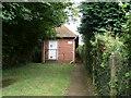 SU6028 : Telephone Exchange, Bramdean by David Hillas