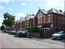 SZ0894 : Coronation Avenue Bournemouth by Nigel Mykura