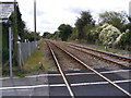 TM3976 : Railway Line at Mells Level Crossing by Adrian Cable