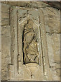 TQ2953 : Statue of St Katharine by Stephen Craven