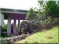 SD4180 : Viaduct carrying the main road past Lindale by David Brown