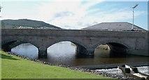 J3731 : The Shimna Bridge and Weir by Eric Jones
