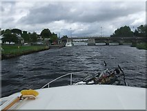 N0069 : Bridge over the River Shannon at Lanesborough by Adie Jackson