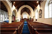 TM2384 : St Margaret, Starston, Norfolk - East end by John Salmon