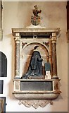 TM2384 : St Margaret, Starston, Norfolk - Wall monument by John Salmon