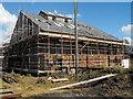 SJ6775 : Lion Salt Works Restoration Begins by Andrew Fielding