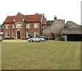 TG3303 : Claxton Manor (south façade) by Evelyn Simak