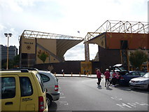 SO9199 : Molineux stadium, Wolverhampton. by Jeremy Bolwell