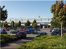 S5810 : Waterford Institute of Technology and its car park by David Hawgood