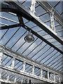 NZ2642 : Roof detail, platform 2, Durham Railway Station by hayley green