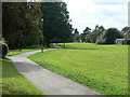 SK5136 : Bramcote Lane Open Space by Alan Murray-Rust