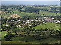 SX6987 : Chagford from Meldon Hill by Derek Harper