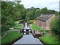 SJ9151 : Stockton Brook Top Lock, Staffordshire by Roger  Kidd