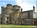 NZ0878 : Belsay Castle - north side by Mike Quinn