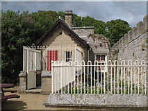 NZ0878 : Belsay Hall - kennels, north of the castle by Mike Quinn
