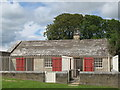NZ0878 : Belsay Hall - kennels, north of the castle (2) by Mike Quinn