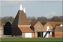 TQ8440 : Oast House at Lashenden Farm, Headcorn Road, Biddenden, Kent by Oast House Archive